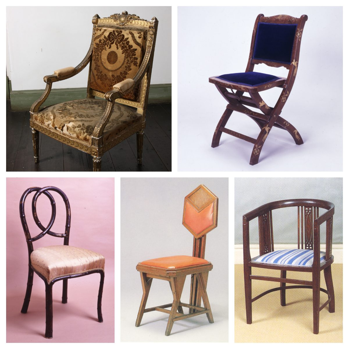 優れたデザインの裏に潜む歴史秘話も!華麗なる椅子コレクション