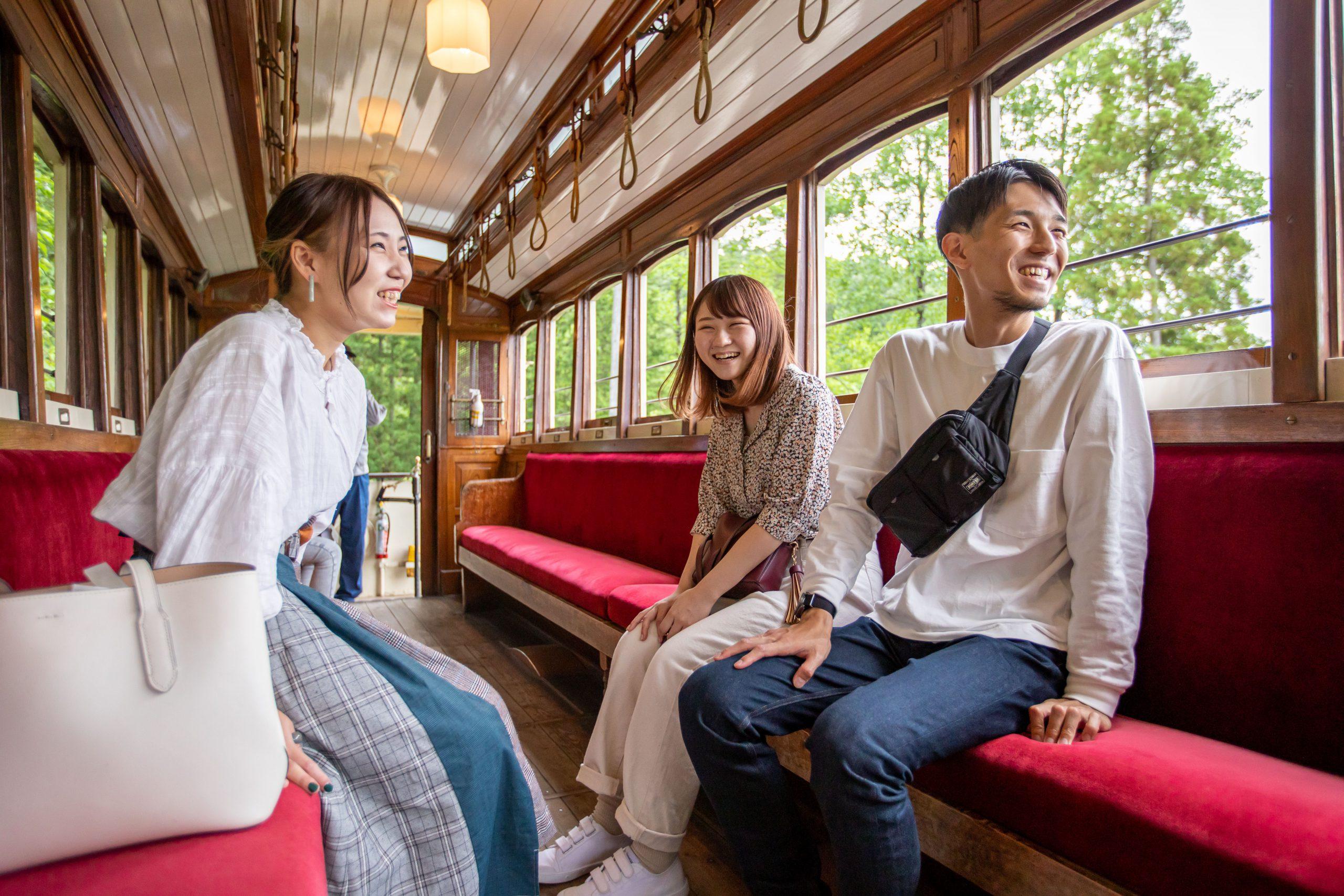 京都市電でのんびり旅気分