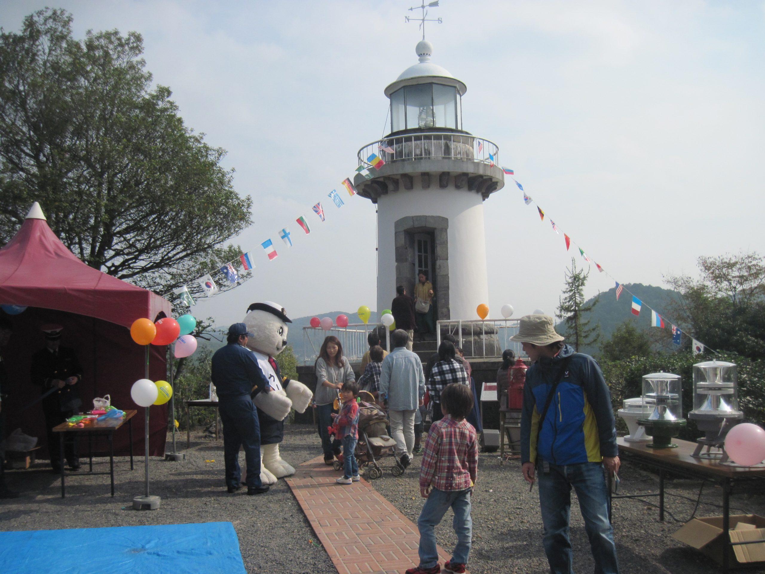 品川燈台特別展示